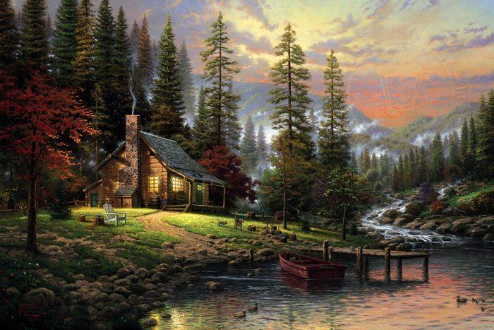 A Peaceful Retreat Art Choices