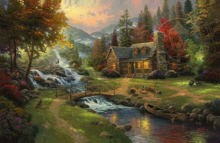 Mountain Paradise Art Choices