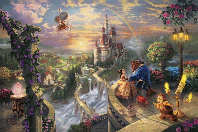 Beauty and the Beast Falling in Love Art Choices