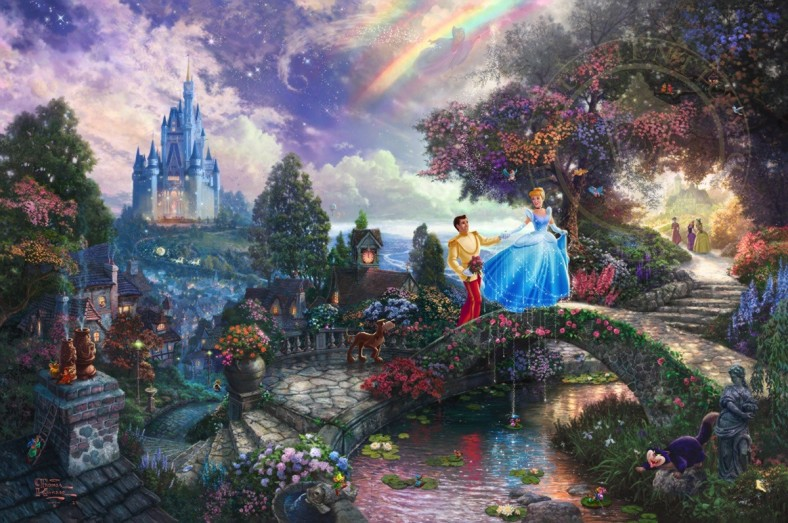 Cinderella Wishes Upon a Dream Art Choices