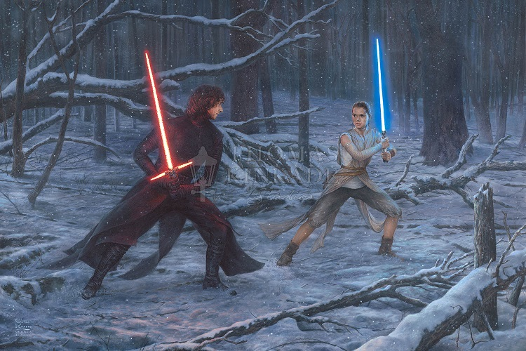 The Duel: Rey vs. Ren Art Choices