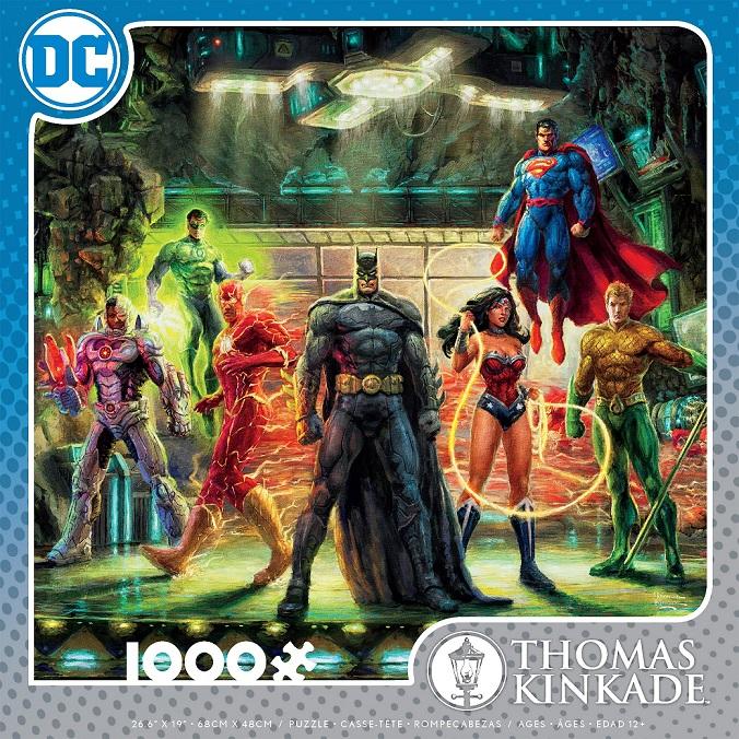 DC Comics Inspired Art Puzzles