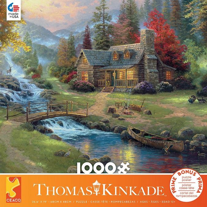 Thomas Kinkade Art Puzzles