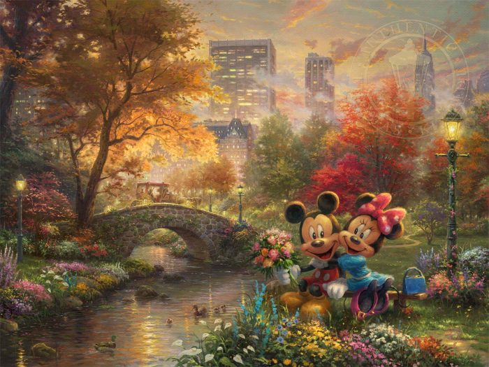 Mickey and Minnie Sweetheart Central Park Art Choices