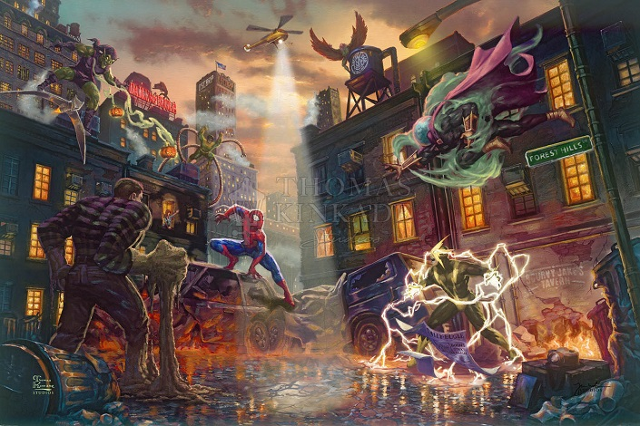 Spider-Man vs the Sinister Six Art Choices