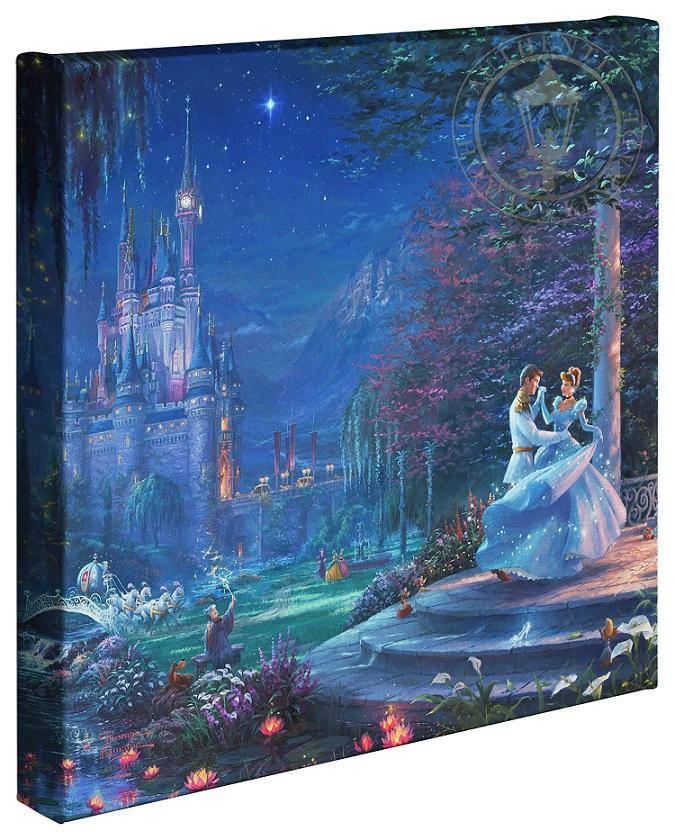 Cinderella Canvas Wraps
