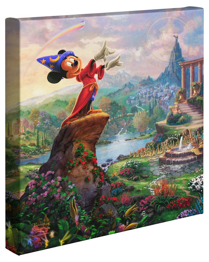 Mickey Mouse Movie Canvas Wraps