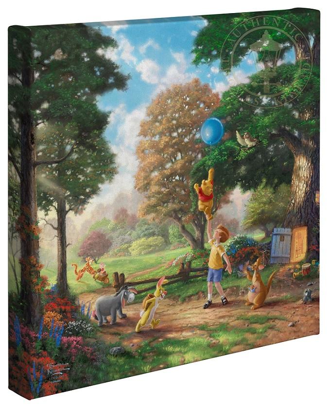 Winnie the Pooh Canvas Wraps