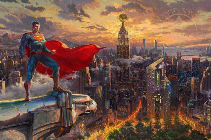 Superman Protector of Metropolis Art Choices