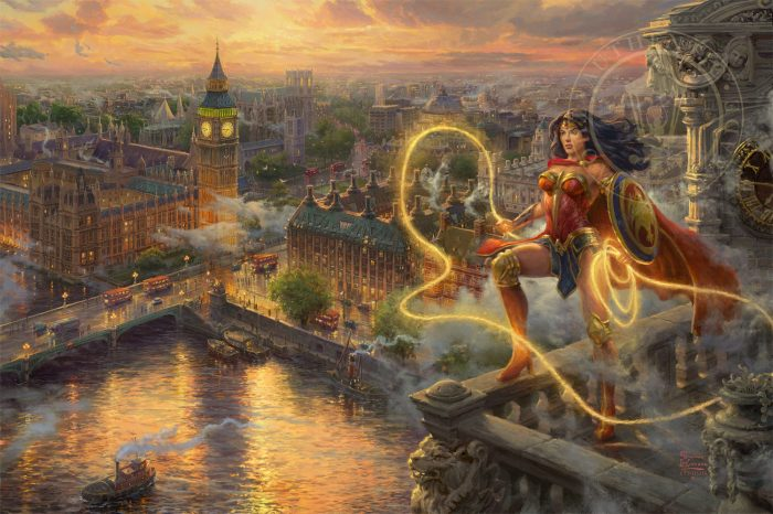 Wonder Woman Lasso of Truth Art Choices