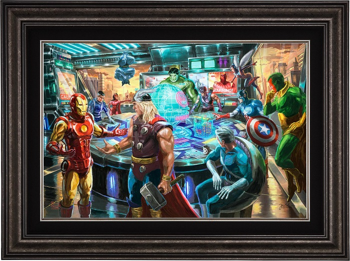 Marvel Comics Paintings