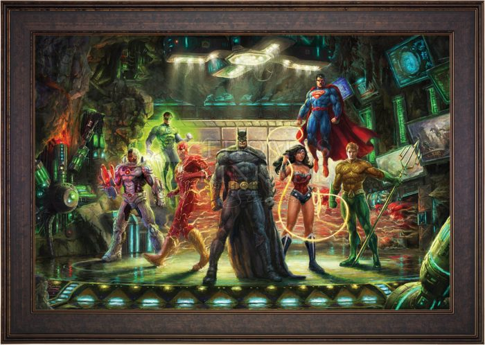 DC Comics Paintings