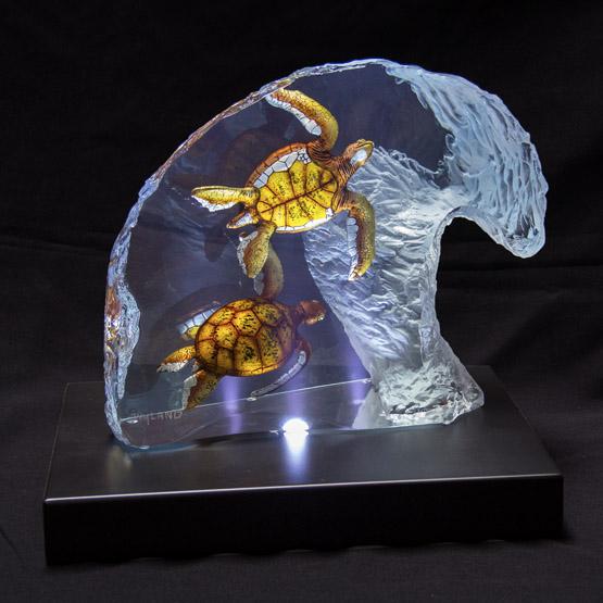Lucite Sculpture