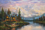 Cathedral Mountain Lodge Painting