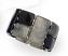 Black Marbleized Stretch Bracelet