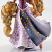 Closeup - Couture de Force Rapunzel