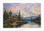 Thomas Kinkade Cathedral Mountain Lodge Paper Edition
