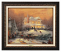 Classic Aged Bronze Frame: Victorian Christmas II