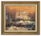 Classic Antique Gold Frame: Victorian Christmas II