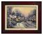 Classic Brandy Frame: Village Christmas