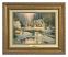 Classic Antique Gold Frame: Deer Creek Cottage