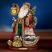 Thomas Kinkade Deck the Halls Santa