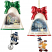 Thomas Kinkade Ringing in the Holidays Ornament Set 5