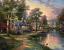 Thomas Kinkade Hometown Lake Classic