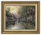 Classic Antique Gold Frame: Hometown Morning