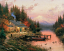 Thomas Kinkade End of a Perfect Day Classic