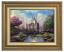 Classic Antique Gold Frame: Cinderella Castle