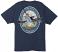 Back: Navy Guy Harvey Lifestyle Lable T Shirt
