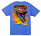 Back: Ocean Blue Chainsaw Guy Harvey T Shirt