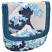 Hokusai Wave Taxi Wallet Front