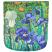 Van Gogh Irises Taxi Wallet Back