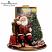 Thomas Kinkade Night Before Christmas Santa