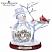 Thomas Kinkade All Hearts Come Home Crystal Snowman