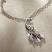 Jim Shore Peacock Necklace Closeup