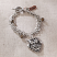 Jim Shore Owl and Feather Bracelet