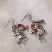 Jim Shore Feathers Earrings