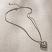Jim Shore Two Tone Heart Necklace