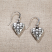 Jim Shore Heart Earrings