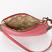 Interior Lining Jasmine Coral Leather Wristlet