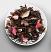 Chocolate Rose Tea Leaves