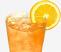 Iced Blood Orange Brewed Tea