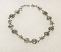 Sterling Silver Starfish, sand Dollar & Shell Bracelet