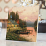Thomas Kinkade End of a Perfect Day on Wood
