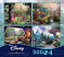 Thomas Kinkade 4 in 1 Disney Puzzle Collection 4