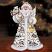 Thomas Kinkade Snowbound Father Christmas Figurine