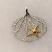 Sea Fan & Starfish Sterling Silver Charm